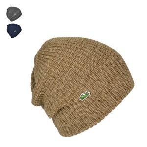 ラコステ秋冬ニットワッチ帽子