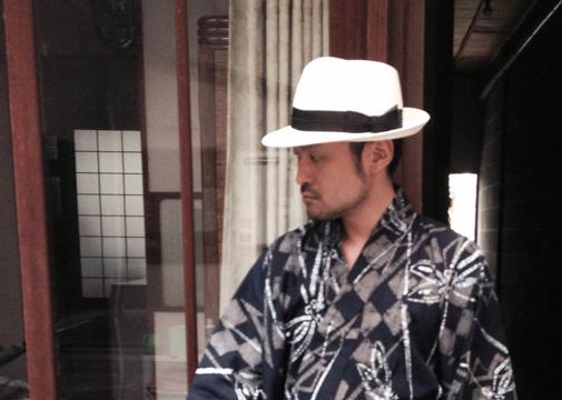 浴衣に似合うメンズハット・帽子