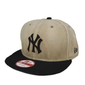 ニューエラ・9フィフティー/ウォッシュド・コーデュロイ/ニューヨークヤンキース/NEW ERA