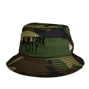 ニューエラ・BUCKET01 ウッドランドカモ・バケットハット・ニューヨークシティ/NEW ERA