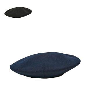 ビッグサーモニットベレー帽