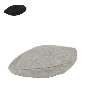 シンプルスウェットベレー帽