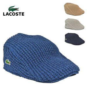 ラコステ・和紙コットンハンチングL1042/LACOSTE