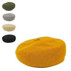 綿麻サーモニットベレー帽