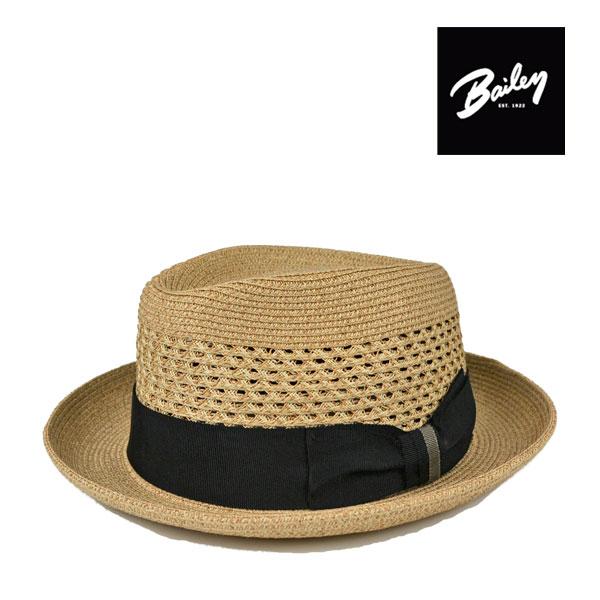 ベイリー・透かし編みペーパー・ソフトハットWILSHIRE・ブリム5cm/Bailey